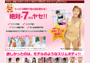 【女性版】REBOL PERFECT DIET 斉藤亜美の効果口コミ・評判レビュー