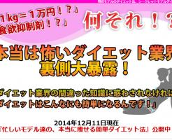 シークレットモデルダイエット 神崎奈々子の効果口コミ・評判レビュー